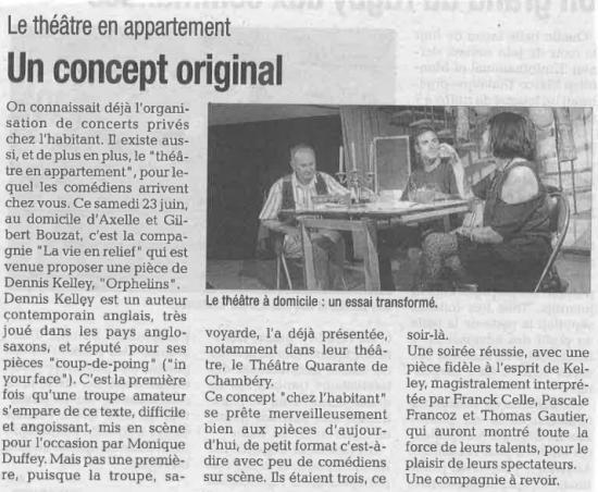 La Tribune - Montélimar 23 juin 2018